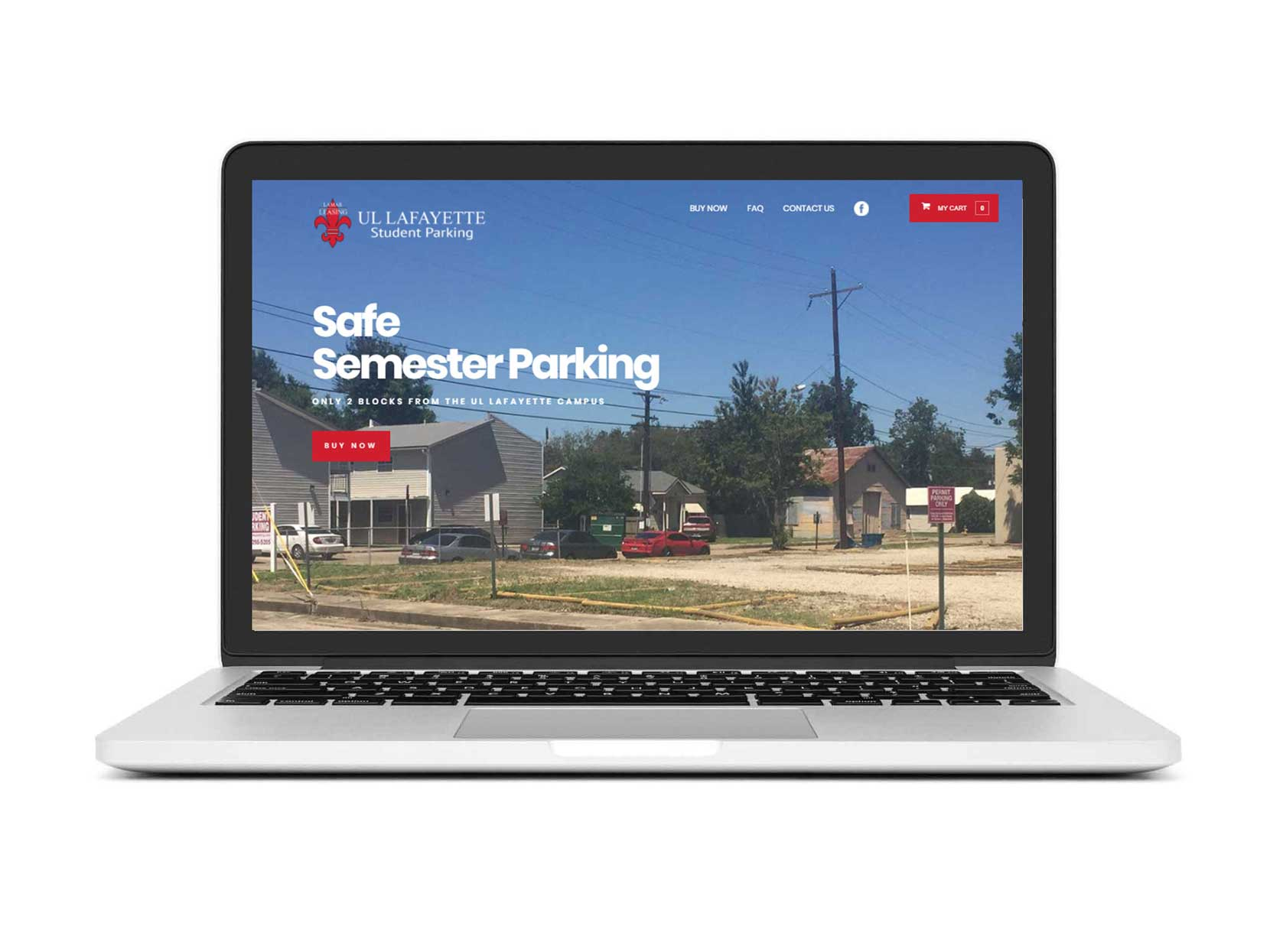 UL-Lafayette-Student-Parking-by-Buzz-Worthy-Marketing-Lafayette-LA